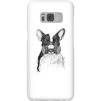 Balazs Solti Masked Bulldog Phone Case for iPhone and Android - Samsung S8 - Snap Case - Gloss