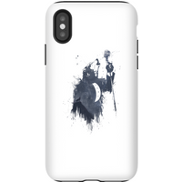Balazs Solti Singing Wolf Phone Case for iPhone and Android - iPhone X - Tough Case - Gloss