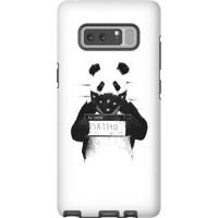 Balazs Solti Bandana Panda Phone Case for iPhone and Android - Samsung Note 8 - Tough Case - Matte
