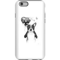 Balazs Solti Bulldog And Balloon Phone Case for iPhone and Android - iPhone 6 - Tough Case - Matte
