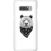 Balazs Solti Bandana Panda Phone Case for iPhone and Android - Samsung Note 8 - Snap Case - Gloss