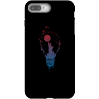 Balazs Solti NYC Moon Phone Case for iPhone and Android - iPhone 8 Plus - Tough Case - Matte