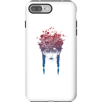 Balazs Solti Native Girl Phone Case for iPhone and Android - iPhone 7 Plus - Tough Case - Matte