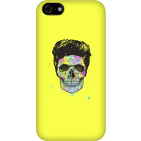 Balazs Solti Colourful Skull Phone Case for iPhone and Android - iPhone 5C - Snap Case - Matte - Colourful Gifts