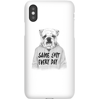Balazs Solti Same Shit Every Day Phone Case for iPhone and Android - Samsung S9 - Snap Case - Matte