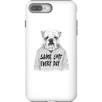 Balazs Solti Same Shit Every Day Phone Case for iPhone and Android - iPhone 8 Plus - Tough Case - Ma