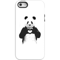 Balazs Solti Panda Love Phone Case for iPhone and Android - iPhone 5/5s - Tough Case - Gloss