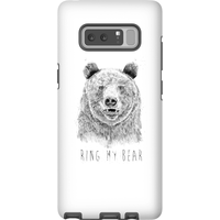 Balazs Solti Ring My Bear Phone Case for iPhone and Android - Samsung Note 8 - Tough Case - Gloss