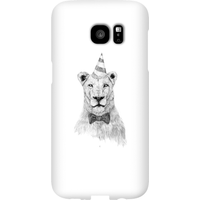 Balazs Solti Party Lion Phone Case for iPhone and Android - Samsung S7 Edge - Snap Case - Matte