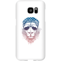 Balazs Solti Bandana Lion Phone Case for iPhone and Android - Samsung S7 Edge - Snap Case - Gloss