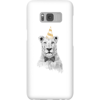 Balazs Solti Party Lion Phone Case for iPhone and Android - Samsung S8 - Snap Case - Gloss - Party Gifts