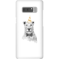 Balazs Solti Party Lion Phone Case for iPhone and Android - Samsung Note 8 - Snap Case - Gloss - Party Gifts