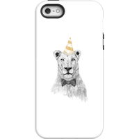 Balazs Solti Party Lion Phone Case for iPhone and Android - iPhone 5/5s - Tough Case - Gloss - Party Gifts