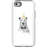 Balazs Solti Party Lion Phone Case for iPhone and Android - iPhone 5C - Tough Case - Gloss - Party Gifts
