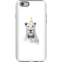 Balazs Solti Party Lion Phone Case for iPhone and Android - iPhone 6S - Tough Case - Gloss - Party Gifts