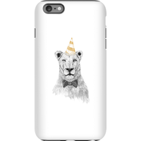 Balazs Solti Party Lion Phone Case for iPhone and Android - iPhone 6 Plus - Tough Case - Gloss - Party Gifts