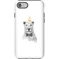 Balazs Solti Party Lion Phone Case for iPhone and Android - iPhone 7 - Tough Case - Gloss - Party Gifts