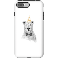 Balazs Solti Party Lion Phone Case for iPhone and Android - iPhone 7 Plus - Tough Case - Gloss - Party Gifts