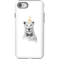 Balazs Solti Party Lion Phone Case for iPhone and Android - iPhone 8 - Tough Case - Gloss - Party Gifts