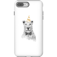 Balazs Solti Party Lion Phone Case for iPhone and Android - iPhone 8 Plus - Tough Case - Gloss - Party Gifts
