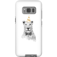 Balazs Solti Party Lion Phone Case for iPhone and Android - Samsung S8 - Tough Case - Gloss - Party Gifts