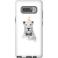 Balazs Solti Party Lion Phone Case for iPhone and Android - Samsung Note 8 - Tough Case - Gloss - Party Gifts