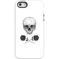 Balazs Solti Skull And Roses Phone Case for iPhone and Android - iPhone 5/5s - Tough Case - Gloss