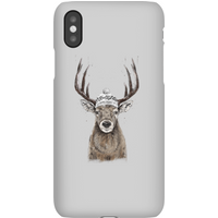 Balazs Solti Winter Deer Phone Case for iPhone and Android - Samsung S10 - Snap Case - Matte