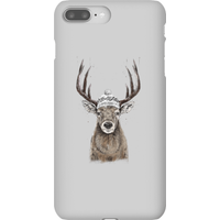 Balazs Solti Winter Deer Phone Case for iPhone and Android - iPhone 8 Plus - Snap Case - Gloss
