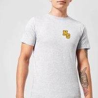 Native Shore NS Logo Men's T-Shirt - Grey - 3XL - Grey