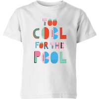 My Little Rascal Too Cool For The Pool Kids' T-Shirt - White - 3-4 Years - White - Tshirt Gifts