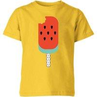 My Little Rascal Watermelon Lolly Kids' T-Shirt - Yellow - 5-6 Years - Yellow