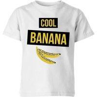 My Little Rascal Cool Banana Kids' T-Shirt - White - 11-12 Years - White - White Gifts