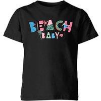 My Little Rascal Beach Baby Kids' T-Shirt - Black - 9-10 Years - Black