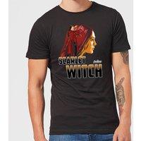 Avengers Scarlet Witch Mens T-Shirt - Black - XXL - Black