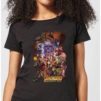 Avengers Team Portrait Women's T-Shirt - Black - S