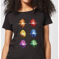 Avengers Infinity Stones Women's T-Shirt - Black - S - Black