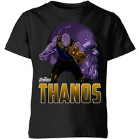 Avengers Thanos Kids' T-Shirt - Black - 5-6 Years