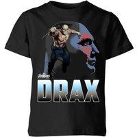 Avengers Drax Kids' T-Shirt - Black - 7-8 Years