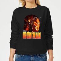 Avengers Iron Man Women's Sweatshirt - Black - XS - Black