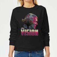 Avengers Vision Women's Sweatshirt - Black - L - Black