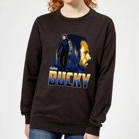 Avengers Bucky Women's Sweatshirt - Black - XL - Black