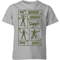 Toy Story Plastic Platoon Kids' T-Shirt - Grey - 7-8 Years - Grey