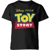 Toy Story Logo Kids' T-Shirt - Black - 3-4 Years - Black