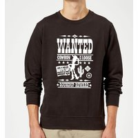 Toy Story Wanted Poster Sweatshirt - Black - S - Black