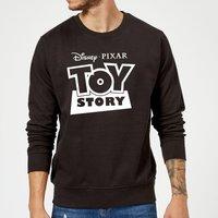 Toy Story Logo Outline Sweatshirt - Black - M - Black