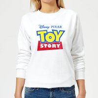 Toy Story Logo Women's Sweatshirt - White - M - White