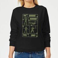 Toy Story Plastic Platoon Women's Sweatshirt - Black - L - Black