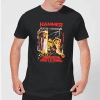 Hammer Horror Frankenstein Crea La Femme Men's T-Shirt - Black - XXL