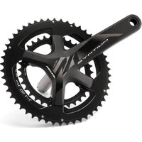 Image of Miche Syntium HSP 11x Chainset - 172.5mm - 34/50T - Black
